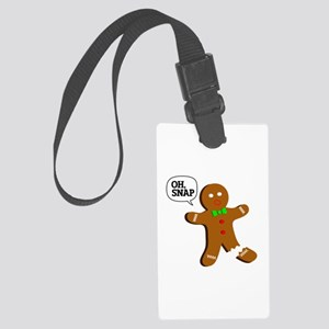 Oh, Snap! Funny Gingerbread Christmas Gift Large L