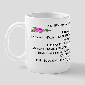 womens prayer Mug