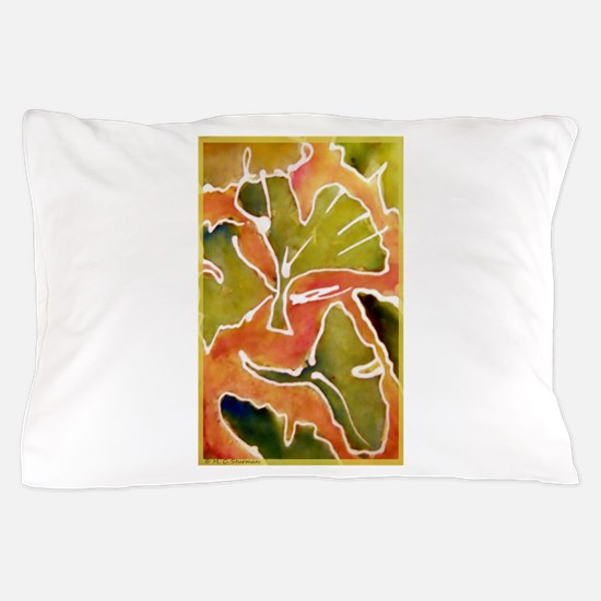 Leaves! Autumn, Ginkgo leaf! Pillow Case