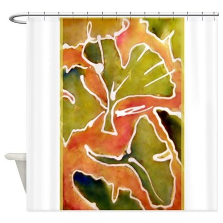 Leaves Autumn Ginkgo Leaf Shower Curtain By Meowriesnewwork