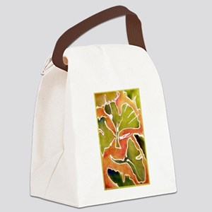 Leaves! Autumn, Ginkgo leaf! Canvas Lunch Bag