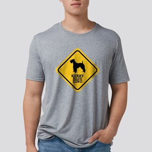 15-Kerry-blue Mens Tri-blend T-Shirt
