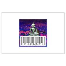 Buddha Ohm 1111 Large Poster