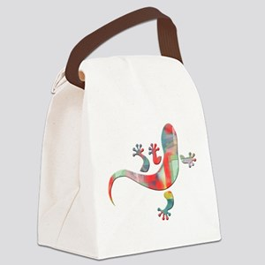 Cool Gecko 5 Canvas Lunch Bag