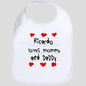 Ricardo Loves Mommy and Daddy Bib