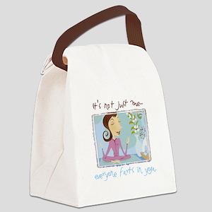 yogafartsmid.png Canvas Lunch Bag