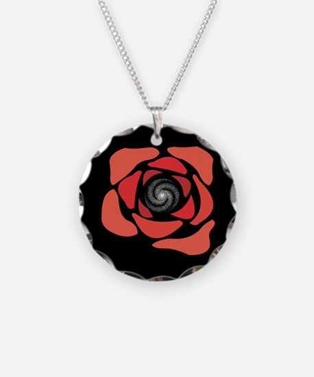 Galaxy Rose Necklace