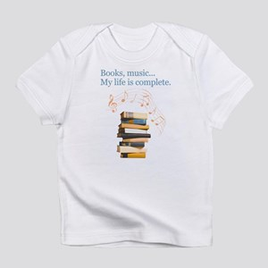 Books and music Infant T-Shirt