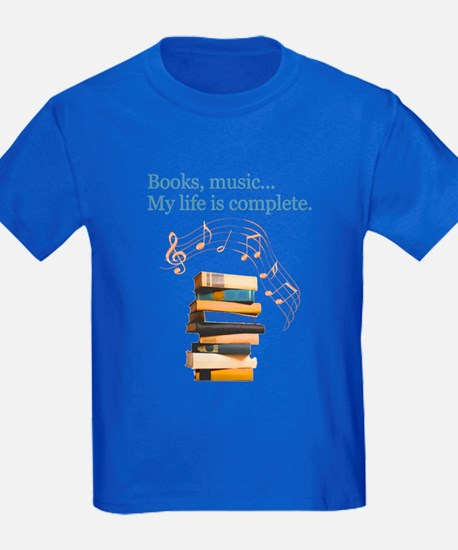 Books and music T