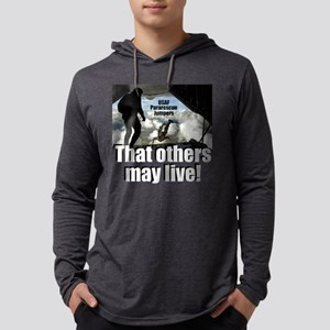 that others may live dark t-shir Mens Hooded Shirt