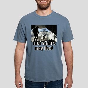 USAF PJs white t-shirt Mens Comfort Colors Shirt