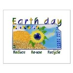 Earth Day Small Poster