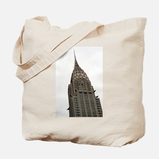 Chrysler Building Tote Bag
