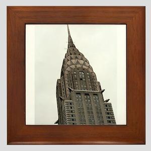 Chrysler Building Framed Tile