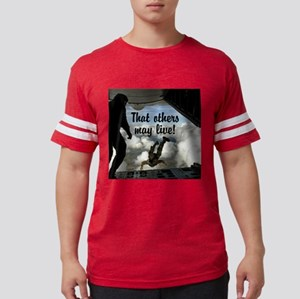 That others may live square Mens Football Shirt