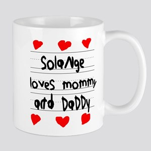 Solange Loves Mommy and Daddy Mug