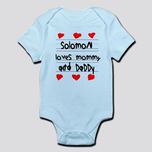 Solomon Loves Mommy and Daddy Infant Bodysuit