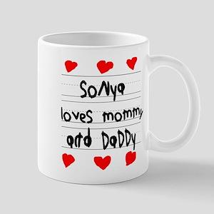 Sonya Loves Mommy and Daddy Mug