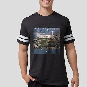 AlcatrazCa clock 2 Mens Football Shirt