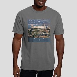 AlcatrazCa clock 2 Mens Comfort Colors Shirt