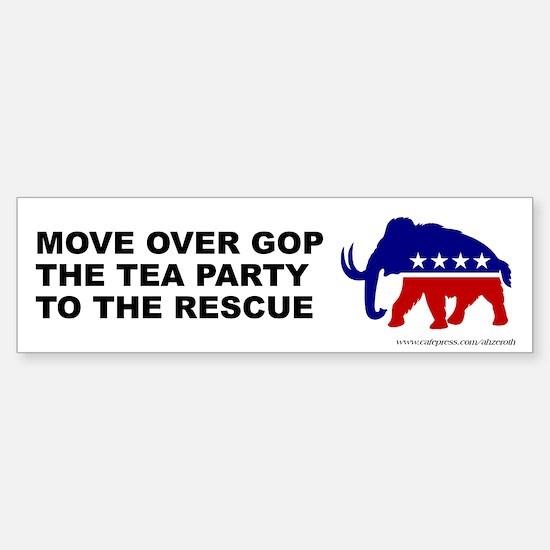 TEA Party Rescue, Sticker (Bumper)