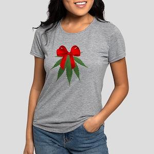 A Pot of Mistletoe Womens Tri-blend T-Shirt