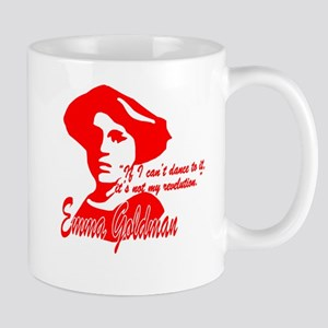 Emma Goldman With Quote Mug