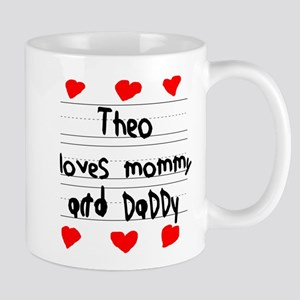 Theo Loves Mommy and Daddy Mug