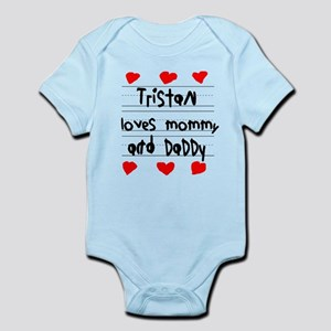 Tristan Loves Mommy and Daddy Infant Bodysuit