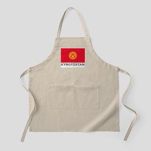 Kyrgyzstan Flag Stuff BBQ Apron