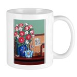 """""""Flowers With A Paintbox"""" Mugs"""