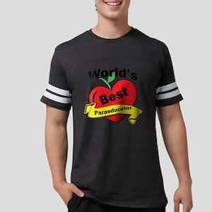 Worlds Best Paraeducator Mens Football Shirt