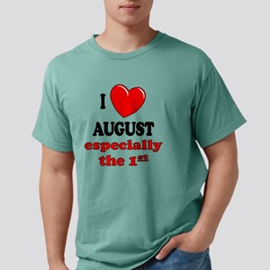 august1 Mens Comfort Colors Shirt