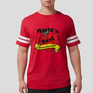 Worlds Best Paraprofessional Mens Football Shirt