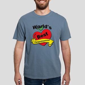 Worlds Best Paraprofessi Mens Comfort Colors Shirt