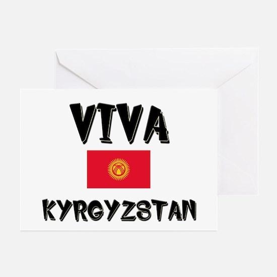 Viva Kyrgyzstan Greeting Cards (Pk of 10)
