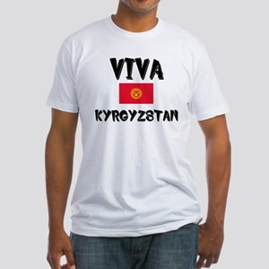 Viva Kyrgyzstan Fitted T-Shirt