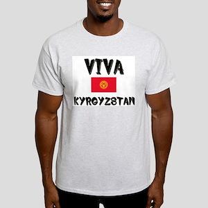 Viva Kyrgyzstan Ash Grey T-Shirt