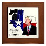 ChrisBell, TX GOV Framed Tile