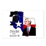 ChrisBell, TX GOV Postcards (Package of 8)
