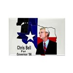 ChrisBell, TX GOV Rectangle Magnet