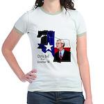 ChrisBell, TX GOV Jr. Ringer T-Shirt