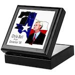 ChrisBell, TX GOV Keepsake Box