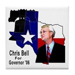 ChrisBell, TX GOV Tile Coaster