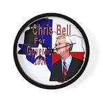 ChrisBell, TX GOV Wall Clock