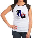 ChrisBell, TX GOV Women's Cap Sleeve T-Shirt