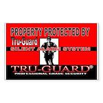 Tru-Guard Sticker (Rectangle 10 pk)