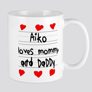Aiko Loves Mommy and Daddy Mug