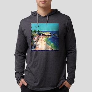 SD-cove-calm-sea-sq Mens Hooded Shirt