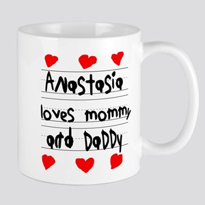 Anastasia Loves Mommy and Daddy Mug